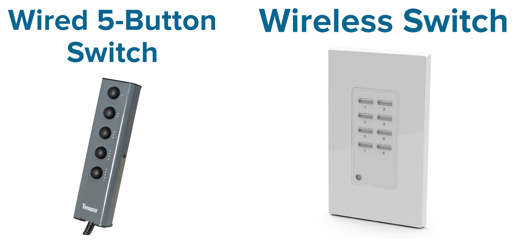 SimplySnap USB and Wireless Switches